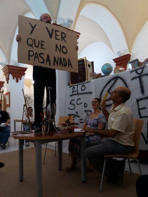 PEPE CRIADO y FRANCISCO ESCUDERO: Presentación EL TEXTO OTRO en Berja (Almería)