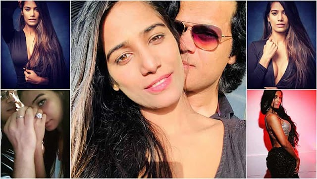 Poonam Pandey got engaged with boyfriend Sam Bombay