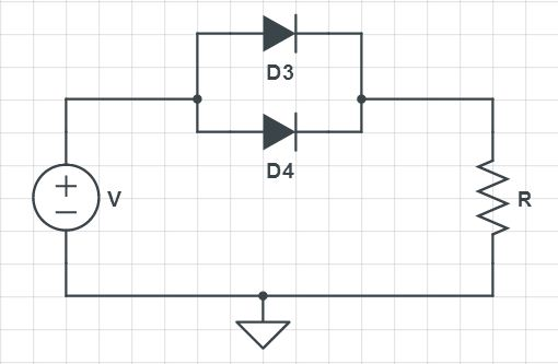 parallel circuits and diodes in wall ovens