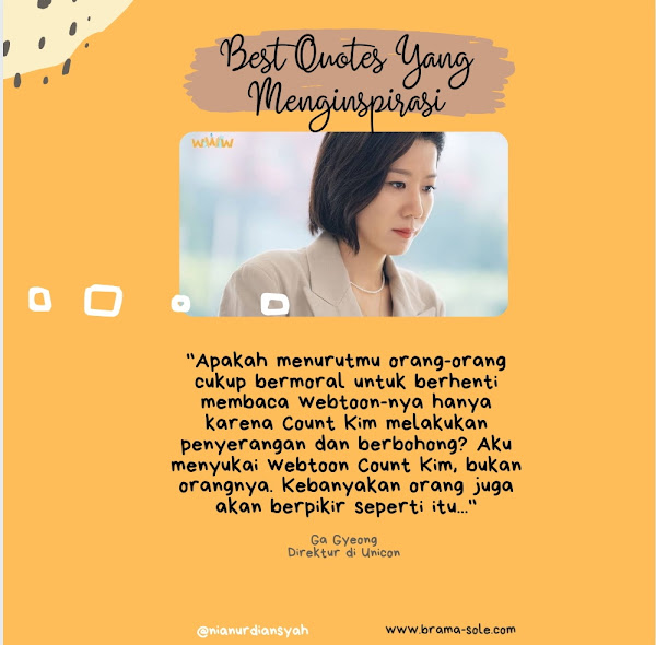 Best quotes dari Ga Gyeong