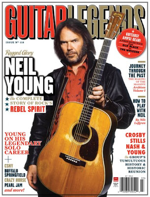 neil young news guitar legends magazine neil young cover. Black Bedroom Furniture Sets. Home Design Ideas