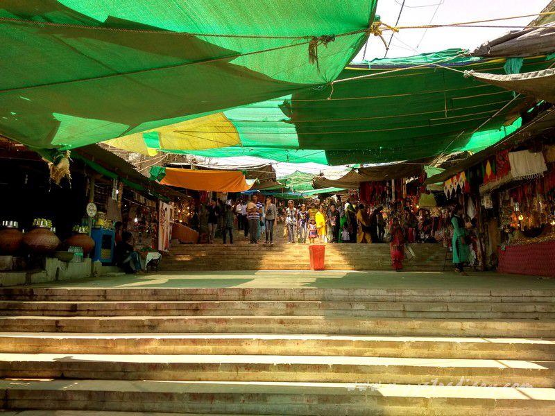 Way to the Mahakalika Temple, Pavagad, Champaner Gujarat