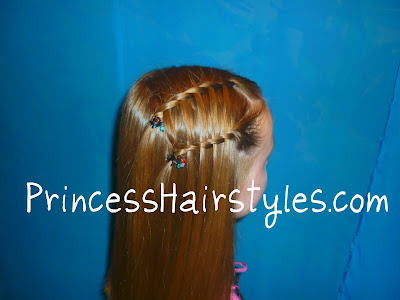waterfall twist braid double