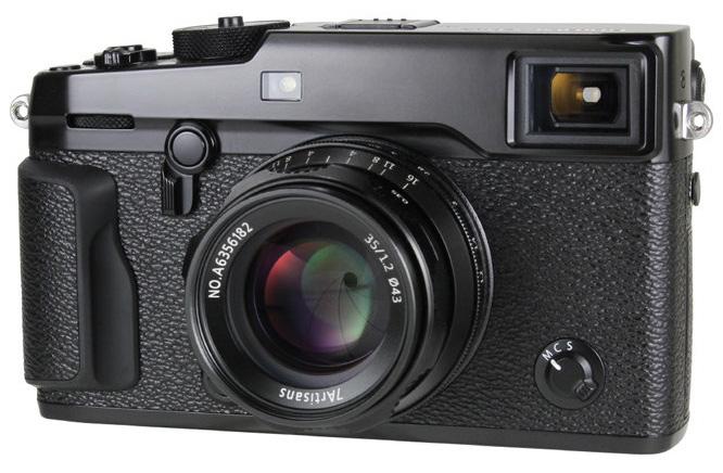 Объектив 7Artisans 35mm f/1.2 на камере Fujifilm