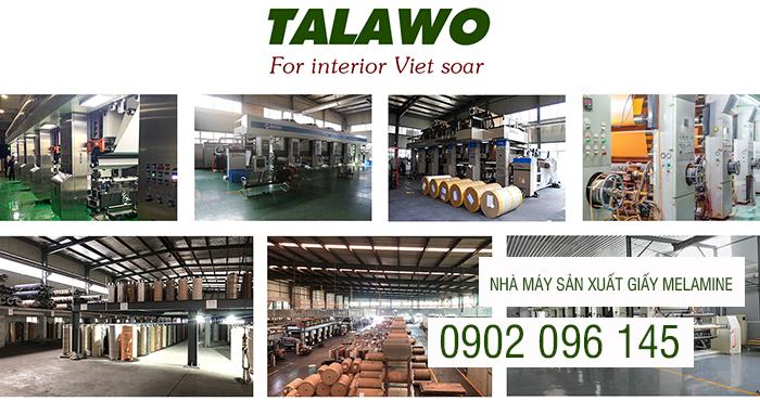 Nhà máy sản xuất giấy melamine