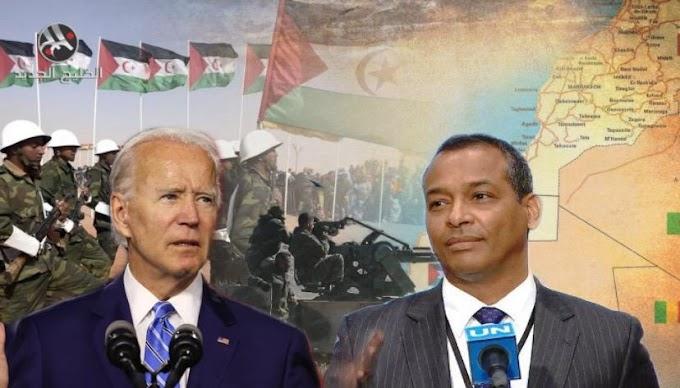 Sidi Omar: ''Todavía estamos esperando que Biden revise la decisión de Trump, que es contraria al derecho internacional y a la política de Washington.''