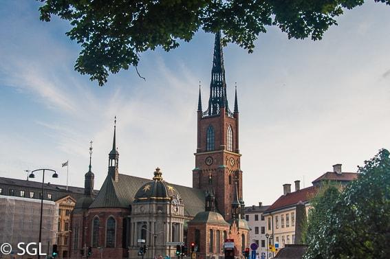 Iglesia Riddarholmskyrkan de Estocolmo. Estocolmo en imagenes