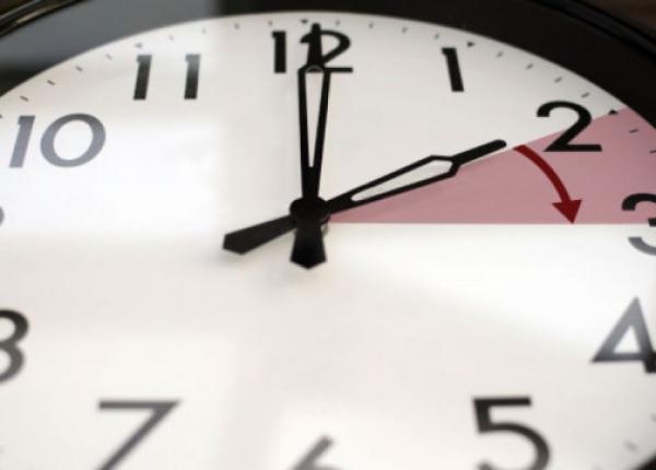 العودة الى الساعة الجديدة في هذا التاريخ