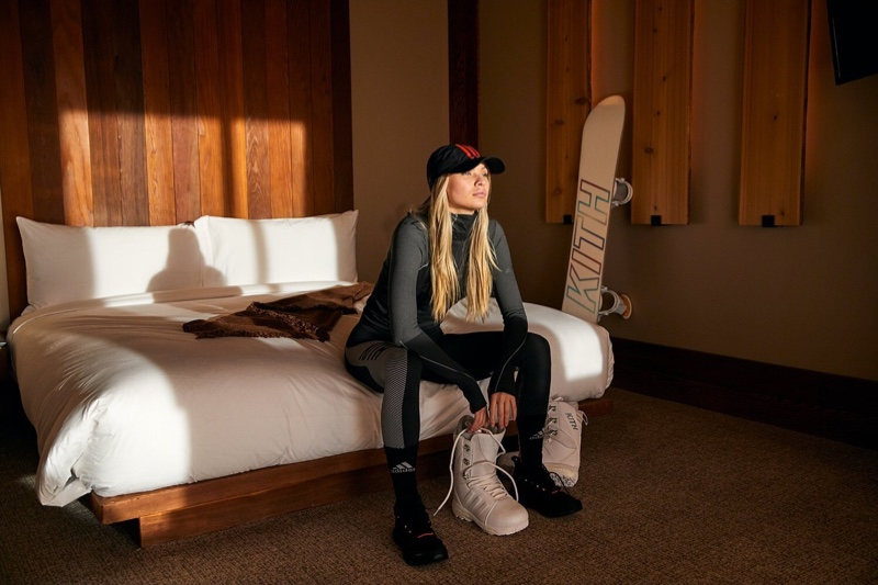 Kith x adidas Terrex Campaign featuring Josie Canseco