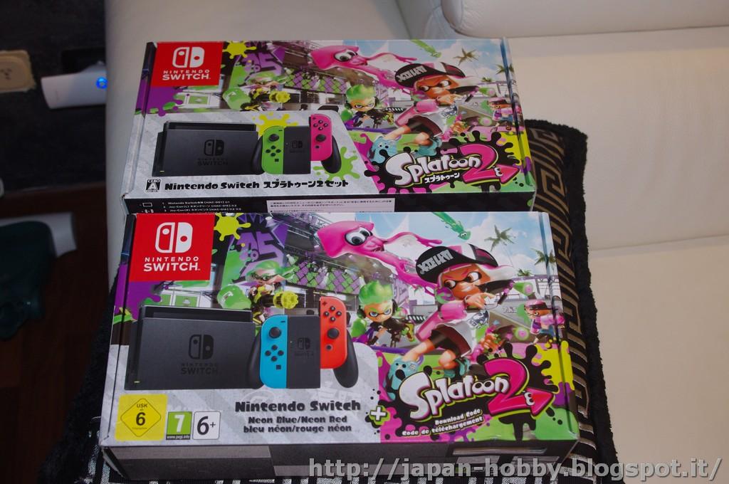 My Passions: Nintendo Switch Splatoon 2 box