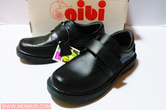 Gibi shoes, black school shoes, back to school