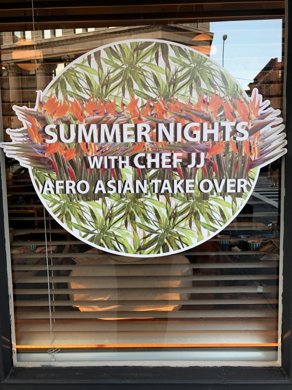 Eating Fabulously, Christopher Stewart, Chefs Club Counter, Chef JJ Afro Asian Takeover, SoHo,