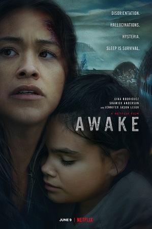 Awake (2021) Hindi Dual Audio 300MB Web-DL 480p