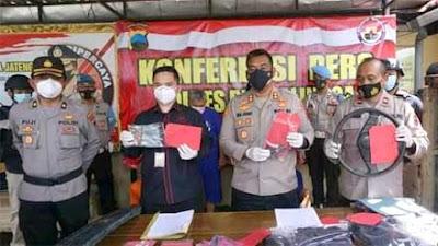 Polres Purbalingga Berhasil Ungkap Kasus Pencurian Spesialis Mobil Pikap