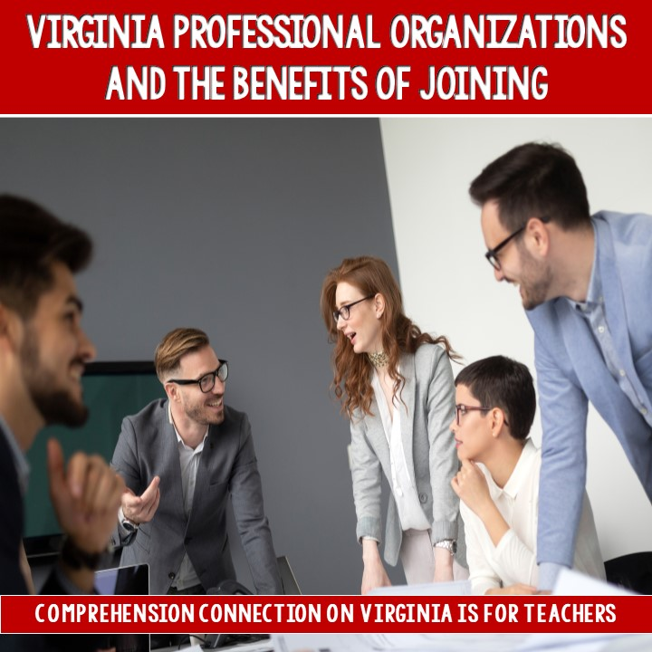 Every year, teachers in Virginia recertify to keep their teaching licenses active, but sometimes, it's tough to locate free or inexpensive professional development options. Professional organizations are a vital part of professional growth. Check out this post to learn about organizations in our state.