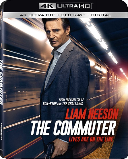 The Commuter 4K (El Pasajero 4K) (2018) 2160p 4K UltraHD HDR BluRay REMUX 50GB mkv Dual Audio Dolby TrueHD ATMOS 7.1 ch