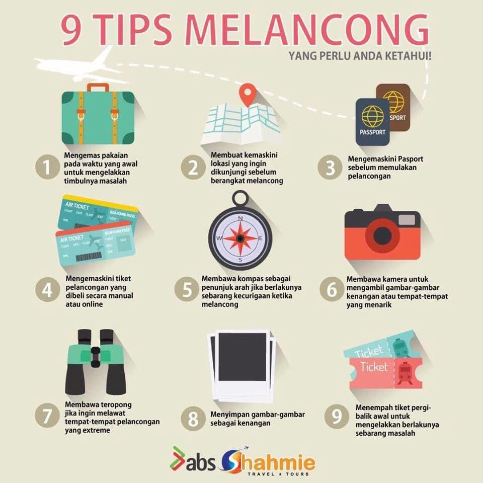 tips melancong