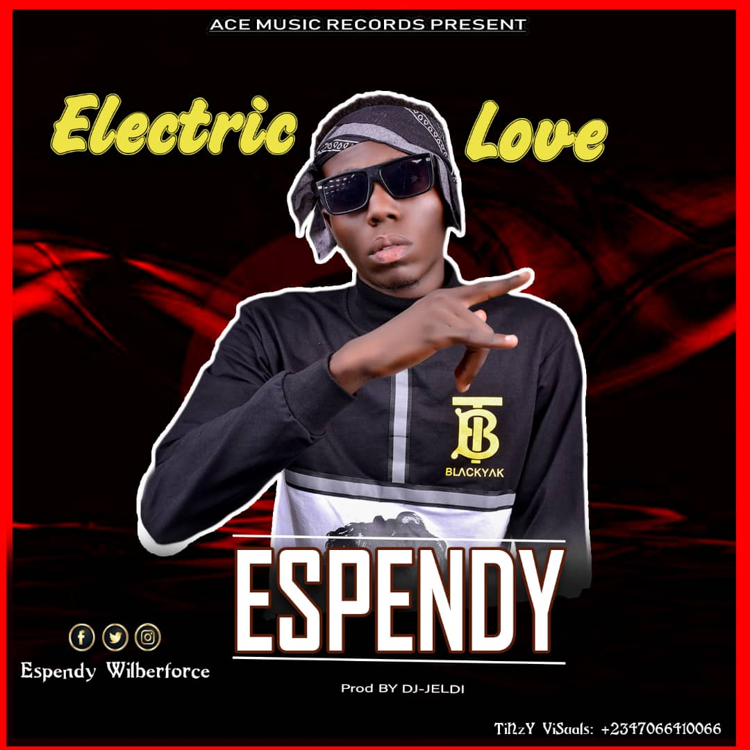 Espendy Electric Love cover artwork