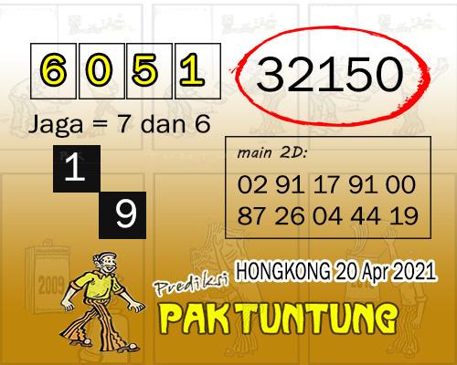 Syair HK Selasa 20 April 2021 -