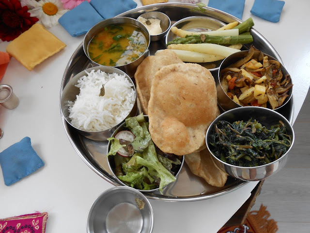 indijski kruh hljeb hleb puri