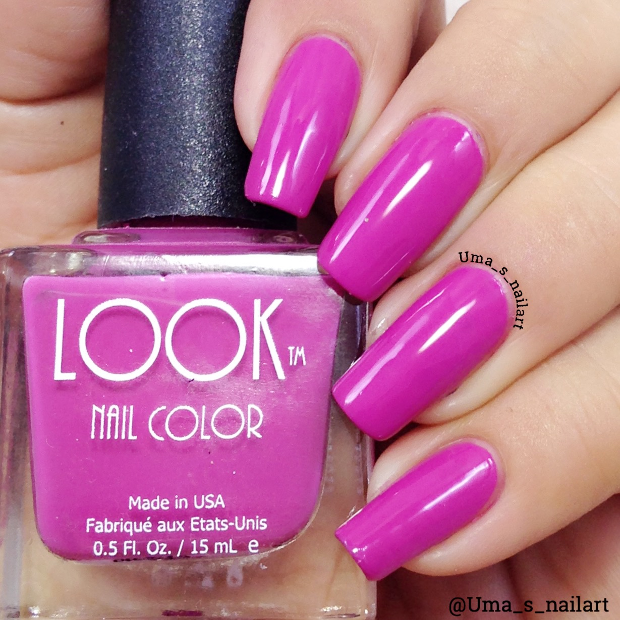 Uma\'s Nail Art: Look Nail Color Review And Swatches...