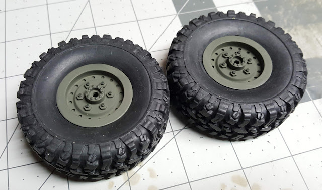 WPL B-24 Wheels and Tires