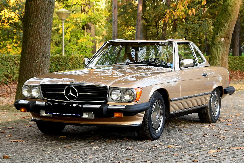 Mercedes Benz 560 Sl Convertible W107 1986 Stuurman Classic And