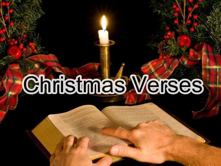 Our Best Collections Of Merry Christmas Verses | Christmas Bible Texts | Christmas  Bible Verses Encourages You To Set Aside Time During The Busy Holiday ...