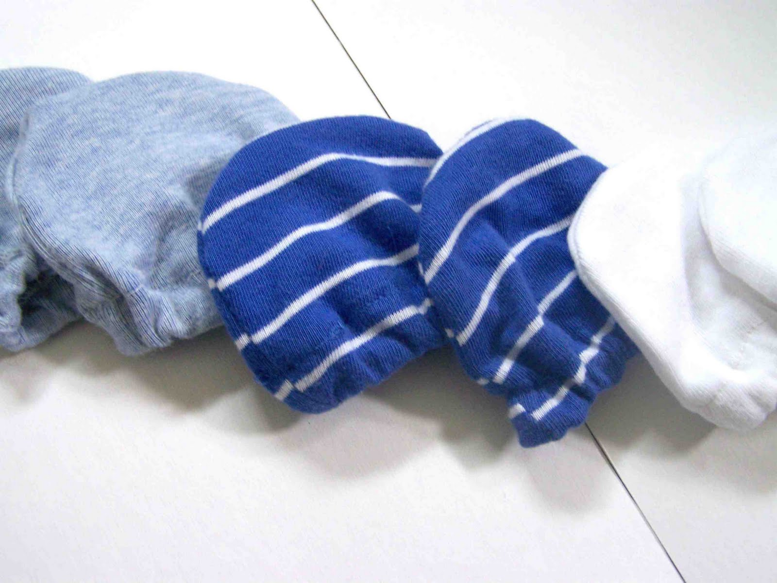 Made By Me Shared With You Sewing For Baby Knit Scratch Mittens