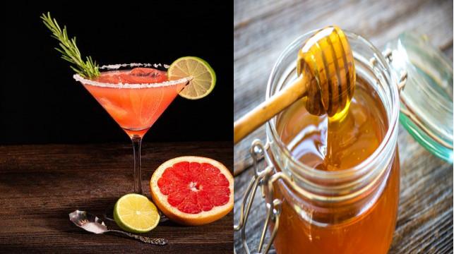 فوائد شرب عصير جريب فروت بالعسل الطبيعى