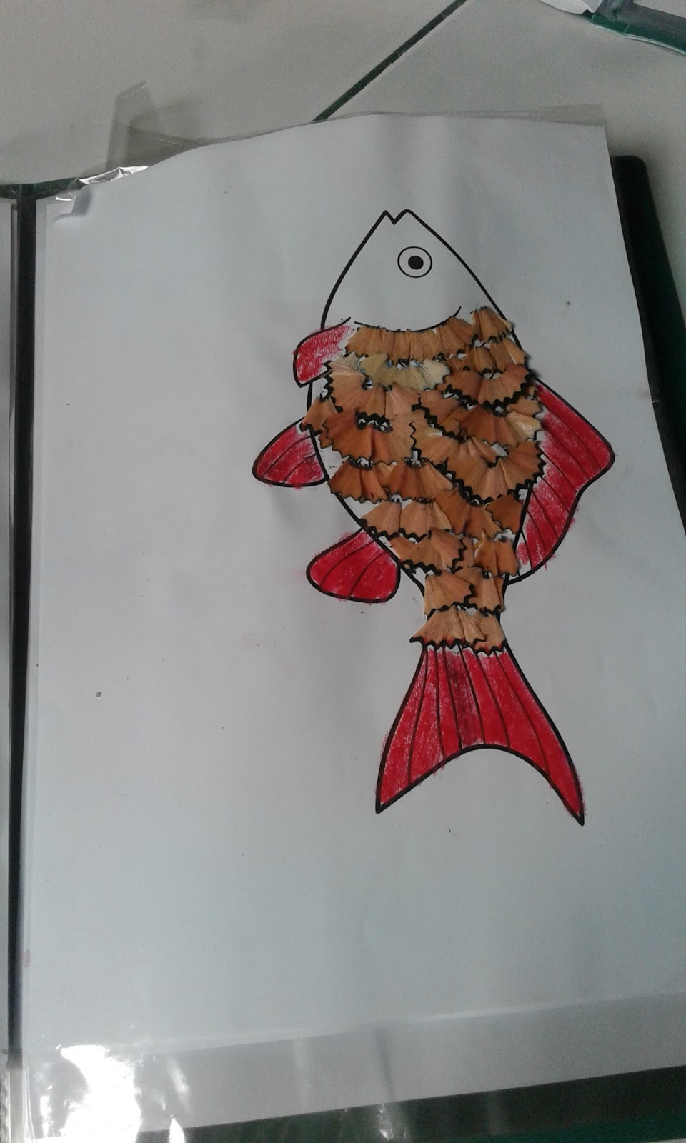 Gambar Kolase Ikan : gambar, kolase, Koleksi, Gambar, Kolase, Kertas, Warna, Gratis, Kumpulan