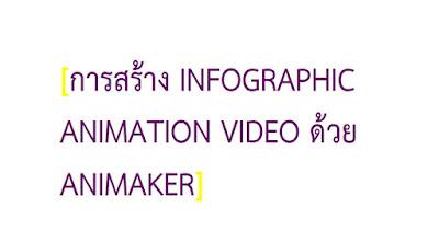 คู่มือโปรแกรม Animaker
