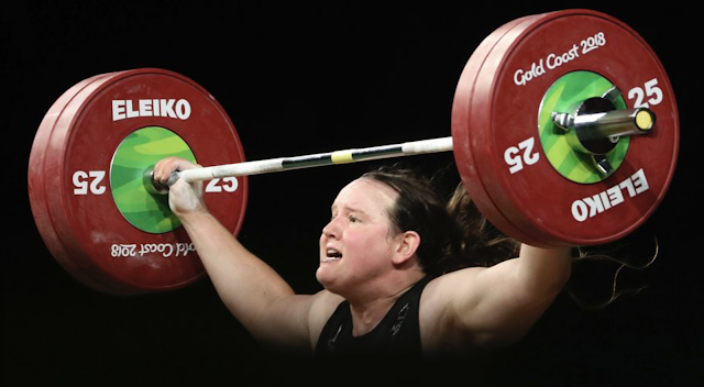 Laurel Hubbard, transgender weightlifter, wins two gold medals in women's competition