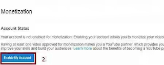 Monetize with YouTube