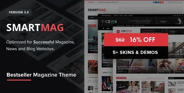 SmartMag – Responsive & Retina WordPress Magazine Theme