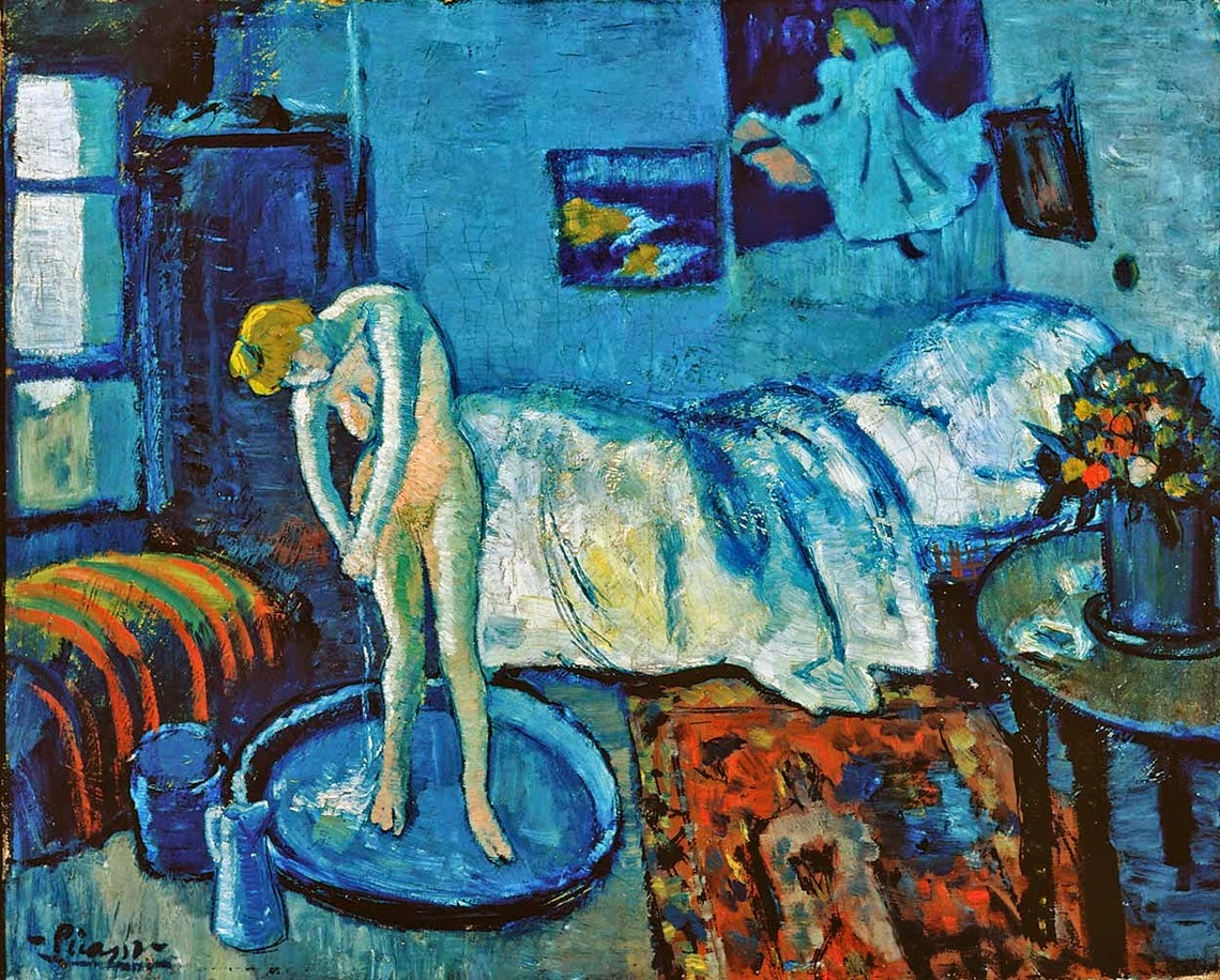 Phillips Collection find a mystery man under a Picasso\'s The Blue ...