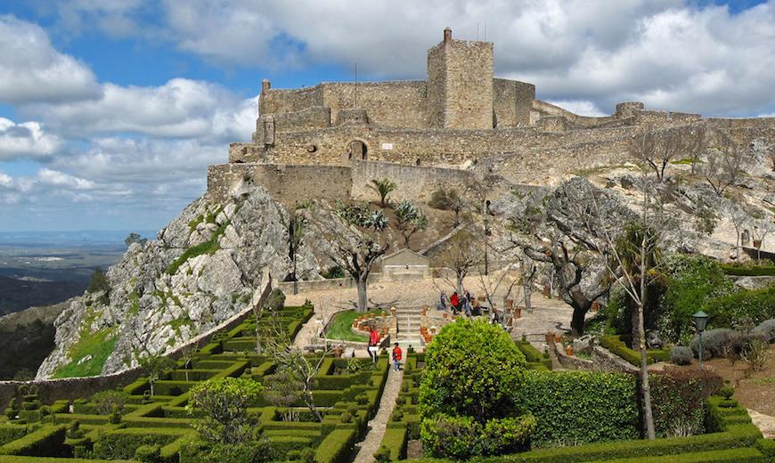Castelo-de-marvao, Portugal