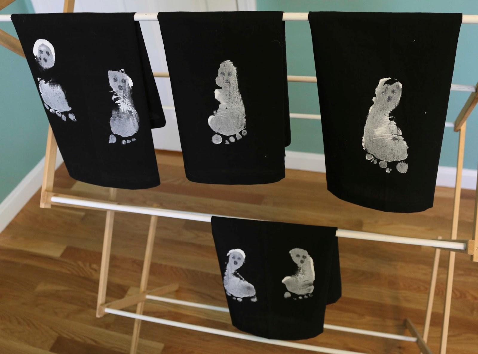 ChemKnits: Ghost Printed Tea Towels