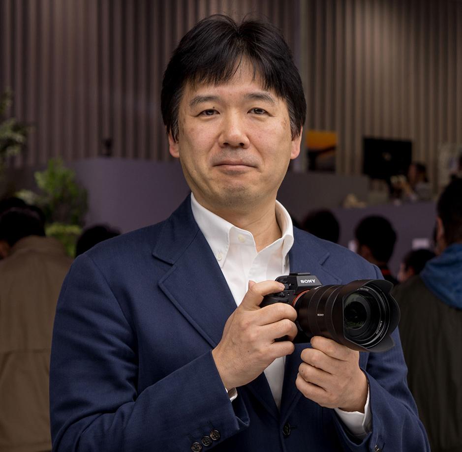 Кенжи Танака, главный управляющий Sony Imaging