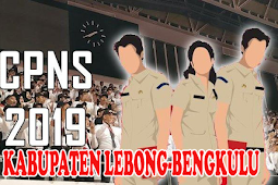 FORMASI CPNS 2019 KABUPATEN LEBONG - BENGKULU