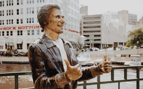 Bronze Fonz Milwaukee Wisconsin