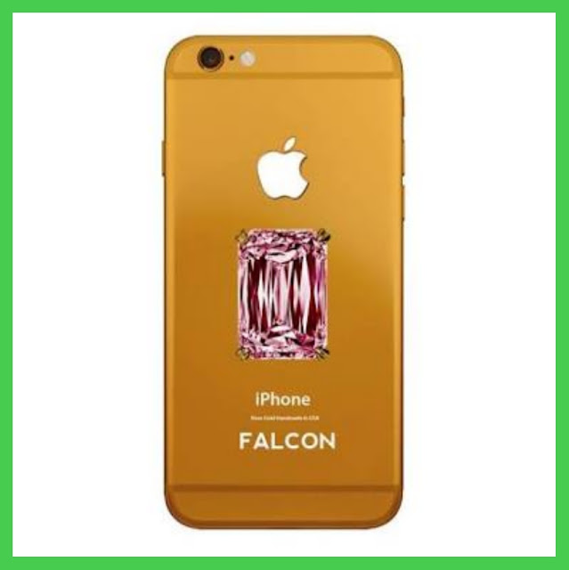 Falcon Supernova IPhone 6 Pink Diamond - worlds most expensive phones