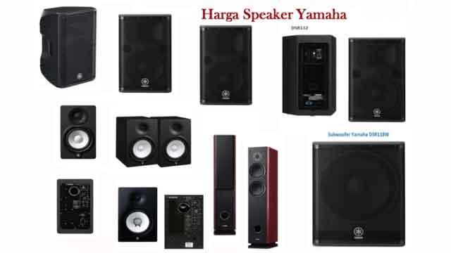 Harga Speaker Yamaha Sound System