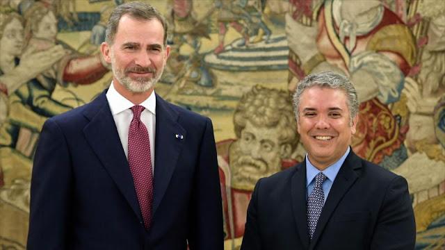 Duque busca una coalición contra Venezuela entre Colombia y España