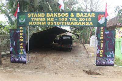 Bazar Murah Akan di Gelar di Lokasi TMMD Kronjo