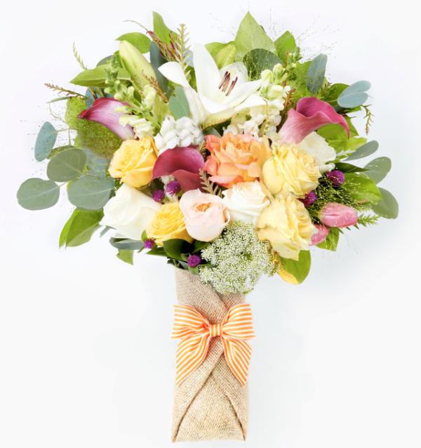 better florist keira lily roses ammi majus flowers