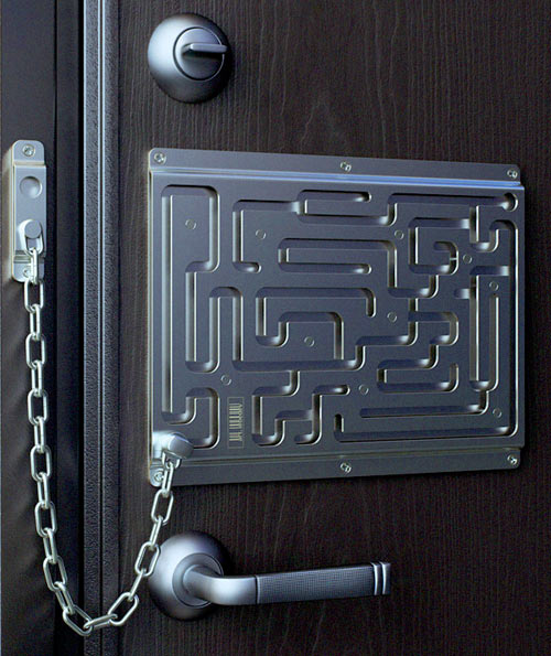 Entry Door Locks >> Creative Door Locks and Cool Door Lock Designs.