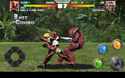 Tampilan Game BIMA-X For Android