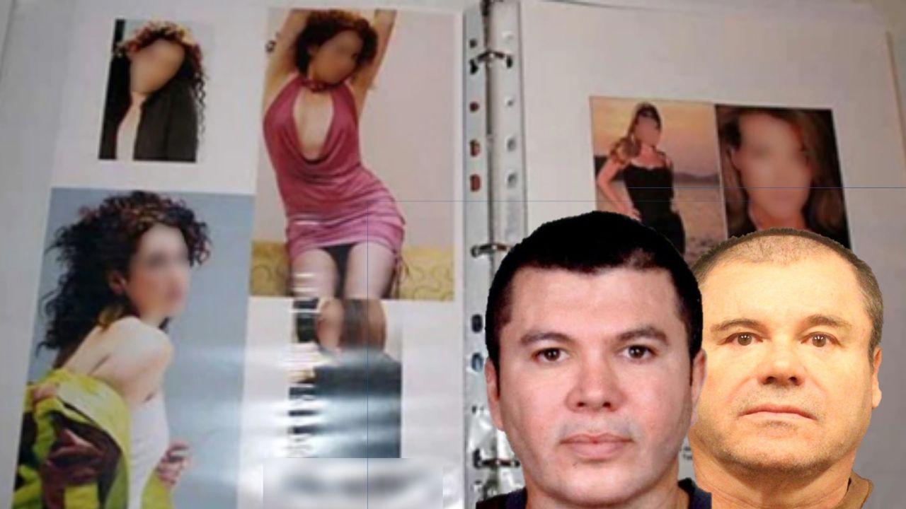 Modelos y artistas:, Así eran los catálogos de mujeres de los Cárteles de Jalisco y Sinaloa
