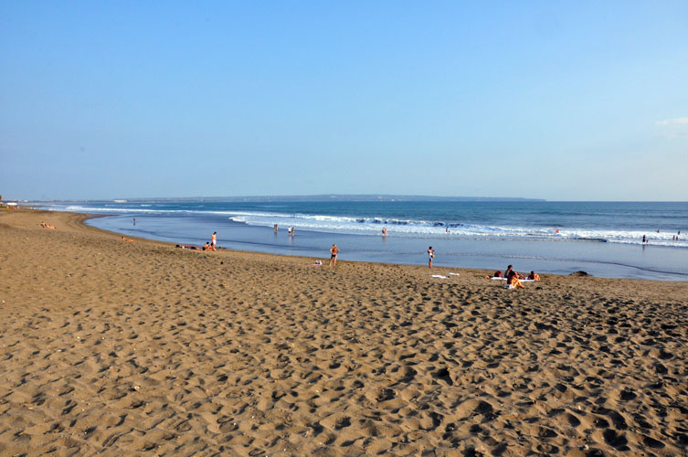 Beautiful Batu Belig Beach In Bali
